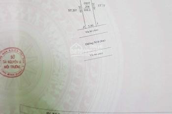 Cần bán đất khu tái định cư Hòa Lợi, phường Hòa Phú DT 5,40 x 20 = 108m , giá 1 tỉ 650 triệu