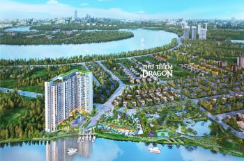 200 căn Thủ Thiêm Dragon quận 2, view sông Sài Gòn, 7 phút đến Q1, 1 - 3PN NT cao cấp, 1.35tỷ - 4tỷ