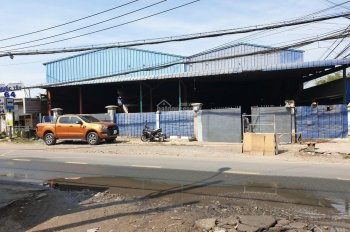 Bán kho xưởng DT: 21 x 46m mặt tiền đường Dương Công Khi, Tân Thới Nhì, Hóc Môn