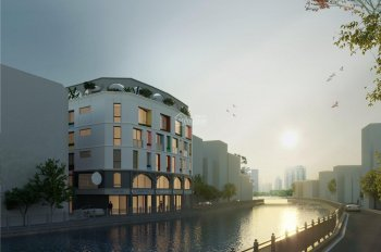Bán nhà phố thương mại mặt tiền Kênh Tân Hóa 6 tầng, 6,7 tỷ