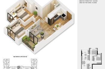 Bán chung cư Anland 2, 2 ngủ, 1 vs, giá 1,6 tỷ. LH: 0982.545.767