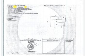 Đất thổ cư đầu tư KD, đã có sổ, Đức Hòa, Long An, DT 100m2, giá 12tr/m2, LH đi xem 0962 398 238