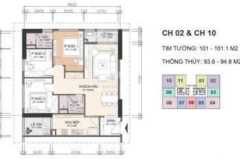 Cần tiền bán gấp căn 3102 tòa CT1 chung cư A10 vào tên hợp đồng nhận nhà luôn