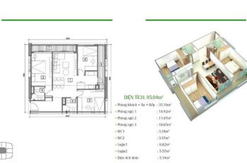 Chính chủ cần bán gấp căn hộ 1817 dự án Eco Dream, chuẩn bị bàn giao nhà - 0977 696 528