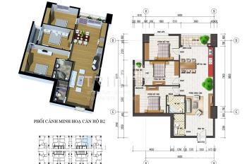 Bán căn hộ 3PN, 109m2, hướng cửa Tây Nam tòa CT4 Văn Khê, giá 1,370 tỷ. LH 0946543583