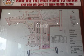 Chính chủ cần bán lô đất nền khu Ford Tứ Minh Hải Dương, giá 850 tr bao sang tên