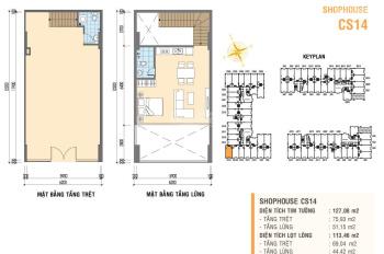 Shophouse Prosper Plaza Phan Văn Hớn, trung tâm quận 12