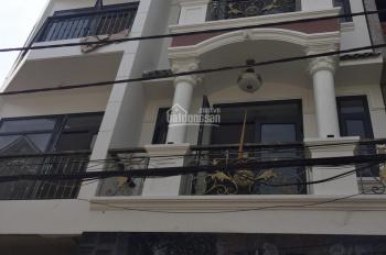 Bán nhà 1 trệt, 2 lầu, sân thượng đường Linh Đông, Thủ Đức gần chung cư 4S cách Phạm Văn Đồng 500m