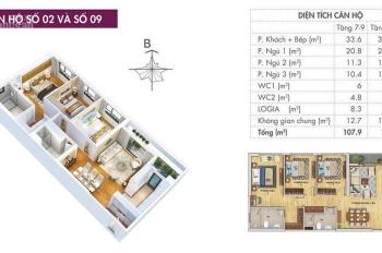 Bán căn hộ M1-10-01, M2-01-10, M2-02, M1-09, full nội thất nhập khẩu. Hotline 0967653218