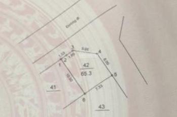 Bán ô góc đất trục chính dịch vụ 6,9ha Vân Canh, nhìn sang LK HUD kinh doanh buôn bán