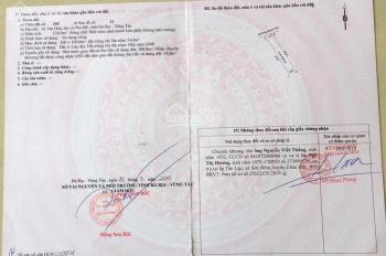 Cần tiền BÁN NHANH đất thị xã Phú Mỹ (mặt tiền đường nhựa 5m), LH: 0988 636 652