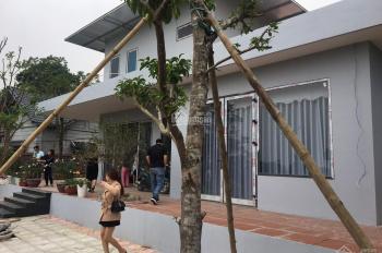 Cần bán gấp biệt thự nhà vườn vip, view thoáng tại xã Hòa Sơn, Lương Sơn, HB