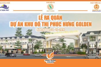 Đất khu đô thị Phúc Hưng Golden 1/500 - liền kề KCN Minh Hưng 345tr, SHR, CK khủng