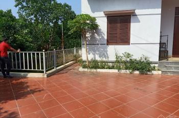 Cần bán gấp khuôn viên biệt thự nhà vườn view cực thoáng tại Cư Yên, Lương Sơn, HB
