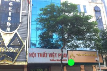 Cho thuê nhà phố Nguyễn Khánh Toàn, Cầu Giấy. DT 75m2, 8 tầng, MT 6m, giá 75tr/th, LH 0961258683