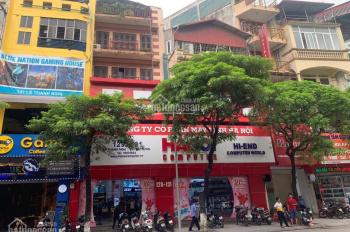Bán nhà mặt phố Lê Thanh Nghị, DT 81/ 84 m2, 5 tầng, MT 6.1m, giá 26 tỷ
