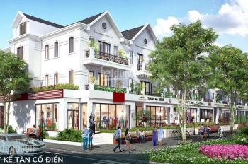 Bán shophouse 198m2 mặt đường Đinh Tiên Hoàng KĐT Times Garden, tiện để kinh doanh, CK 12%