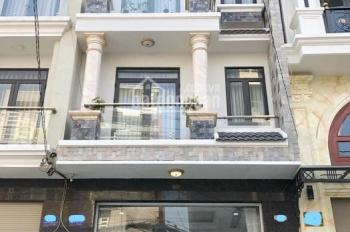 Nhà 4 tầng (5x14m), hẻm xe hơi 6m, khu vực cao cấp an ninh, dân trí cao, dãy nhà sang trọng