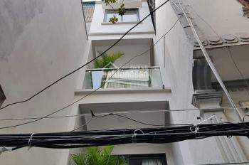 Bán nhà riêng xây mới đẹp như KS 1 sao ở ngõ Đê Tô Hoàng - Bạch Mai, DT 43m2 x 4.5T, ô tô 10m