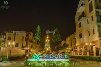 Bán nhà liền kề vườn khu đô thị Midori Park nhận nhà ngay thanh toán dài hạn, 0919433733