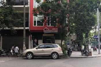 Cho thuê nhà mặt phố Ngô Thì Nhậm, căn góc, DT: 70m2 x 8 tầng, MT: 16m, giá: 160tr/tháng