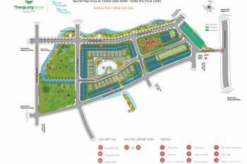 Xoay dòng vốn bán nhanh lô 100m2 dự án Thăng Long Home Hưng Phú, giá tốt cho khách đầu tư và an cư