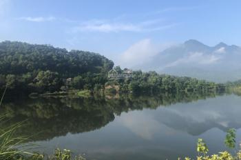 Bán 4800m2 đất sổ đỏ view hồ Đống, xã Vân Hòa, Huyện Ba Vì, Hà Nội