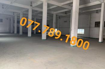 Cho thuê kho chứa hàng, nhà xưởng mặt tiền đường Lê Văn Quới, phường Bình Trị Đông, quận Bình Tân