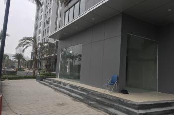Cho thuê giá ưu đãi sàn thương mại đế tòa chung cư Vinhomes Green Bay Mễ Trì, DT 300m2
