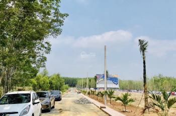 Nhà hoàn thiện mới 100% DT 180m2 đường nhựa Becamex Minh Thành, Bình Phước sổ sẵn thổ cư 100m2