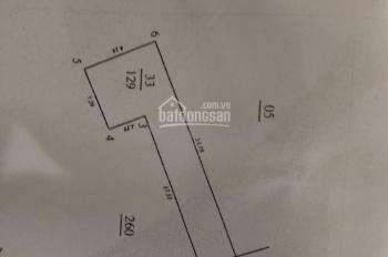 Bán đất 129m2 Lương Thế Vinh, kinh doanh sầm uất, 78tr/m2