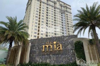 Cho thuê gấp CH Sài Gòn Mia 1PN - 2PN, nội thất cơ bản, 10 triệu/th. 0918541898