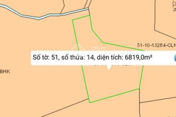 Đất Định Quán, 4,7 hecta, cách quốc lộ 850m, đường xe tải, liên hệ: 0933.418.793