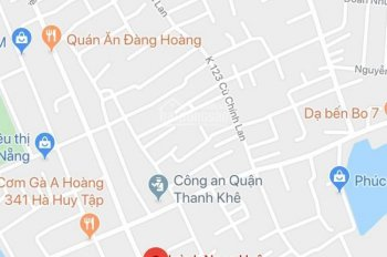 Bán đất kiệt ô tô K53 Huỳnh Ngọc Huệ, Thanh Khê, Đà Nẵng