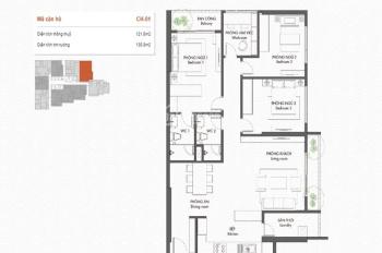 Bán căn chung cư 3 phòng ngủ, 3 ban công, giá chỉ từ 33 triệu/m2 - Nguyễn Văn Cừ, Long Biên