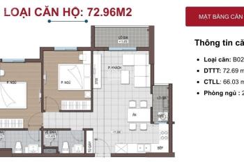 Tôi chính chủ cần bán căn góc DT 65m2, 2PN dự án Conic Riverside quận 8 giá tốt, trả trước 30%