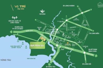 Bán đất ngay mặt tiền Quốc Lộ 51 dự án Bà Rịa City Gate 3,9 tỷ/120m2 sổ hồng thổ cư, chiết khấu 1%