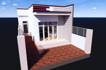 Nhà hoàn thiện 1 phòng khách, 3 phòng ngủ mặt tiền đường nhựa 12m, 980 triệu, LH: 0968 108 226