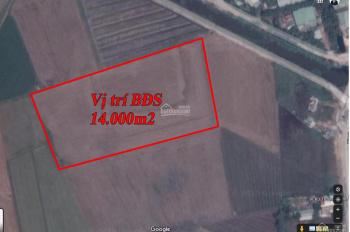 Đất 14.000m2 kênh 9 Lê Minh Xuân gần KCN Lê Minh Xuân. Giá đầu tư tương lai mặt tiền Võ Văn Kiệt