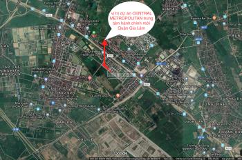 Central Metropolitan - Shophoues trung tâm hành chính mới quận Gia Lâm, LH: 0921019777