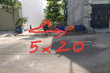 Cần bán gấp lô đất ở khu phố Hòa Long, Lái Thiêu, DT 100m2 giá 1tỷ550, SHR. LH 0934556202