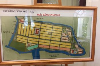 Cần bán đất nền khu dân cư Vĩnh Phú 1 gđ2 dt 75m /80m giá 22tr500/m  Lh 09867968 Quỳnh Nga