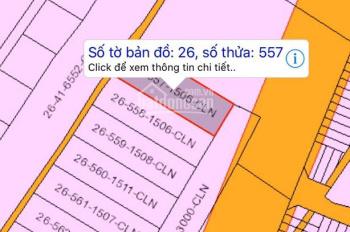 Tôi chính chủ cần bán lô đất số tờ 26, số thửa 557, xã Phước An, huyện Nhơn Trạch, Đồng Nai