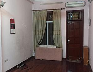 Cho thuê nhà phân lô hồ Đền Lừ, Tân Mai 32m2 * 5T nhà cách đường 10m, nhà thiết kế mỗi tầng 1 phòng