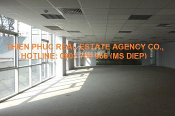 Cho thuê văn phòng đẹp MT Cao Thắng, Q3, nguyên sàn 100m2, 51.3 triệu/ tháng