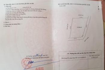 Cần bán đất thổ cư giữa làng Trạm Bạc, xã Lê Lợi, An Dương, Hải Phòng