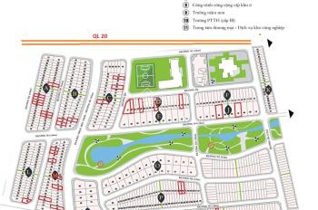 Bảo Lộc Capital chính chủ bán lô dãy Q gần kế ngã 4, phía sau không có đồi 100m2 - 750tr