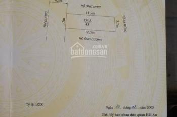 Chính chủ bán lô số 135 mặt đường Thành Tô, Tràng Cát, vị trí gần ngã 3, kinh doanh buôn bán tốt