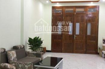Bán căn nhà DT 36m2 * 5T xây mới phố Mai Động, ô tô cạnh nhà, ngõ thông, giá 3,45 tỷ, 0973883322