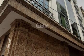 Cho thuê nhà mặt phố Phạm Tuấn Tài, Trần Quốc Hoàn, Cầu Giấy 180m2 * 6.5T, 1 hầm, MT 10m thông sàn